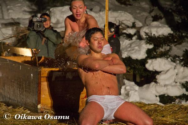 木古内町寒中みそぎ 2013