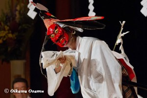厚沢部町 合石神楽公演 山の神舞