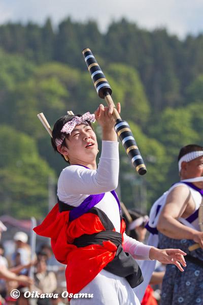 ひろめ舟まつり 2013 安浦駒踊り