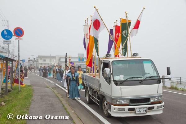 大船稲荷神社 渡御祭 神社行列