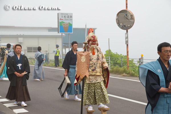 大船稲荷神社 渡御祭 猿田彦