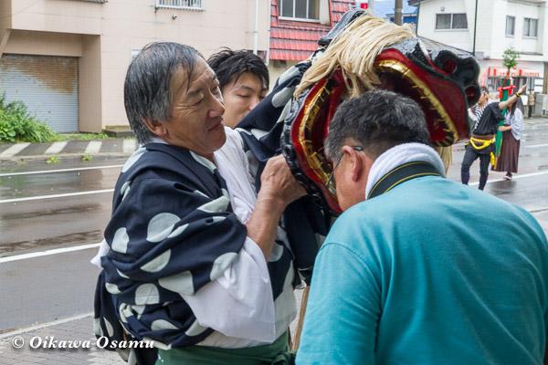 福島町 福島大神宮渡御祭 2013 獅子
