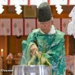 上磯八幡宮 鎮釜湯立式 2013