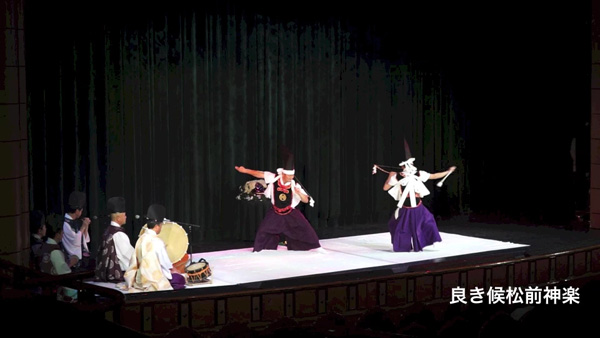 豪華客船 2015 松前神楽 神遊舞