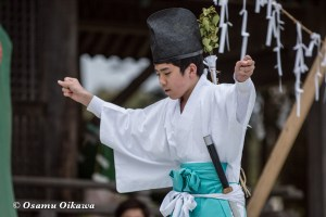 松前神楽合同公演 2016 山神舞