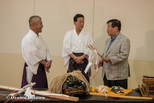 ダイドー日本の祭り 記者会見 松前神社例大祭 松前神楽