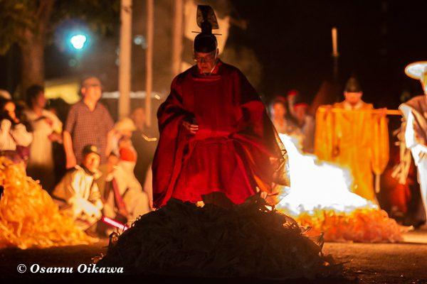 平成30年 美国町 美国神社 例大祭 神主 祈祷