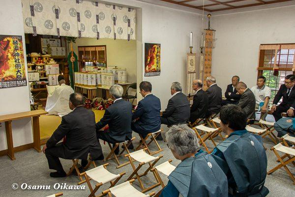 平成30年 古平町 琴平神社 例大祭 宵宮祭 拝殿