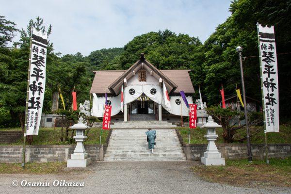 平成30年 古平町 琴平神社 例大祭 拝殿