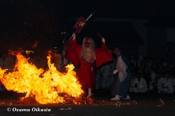 平成30年 古平町 琴平神社例大祭 二日目 渡御祭 猿田彦 出陣