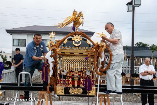 平成30年 美瑛町 美瑛神社渡御祭 神輿