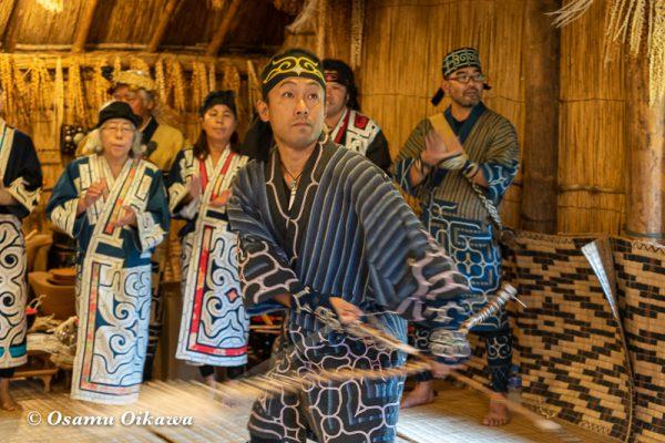 平成30年 平取町 チプサンケ アイヌ民族 アイヌ古式舞踊02