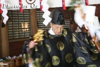 平成20年 松前町 松前神社本祭 松前神楽 榊舞