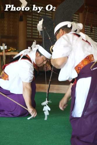 平成20年 松前町 松前神社本祭 松前神楽 神遊舞