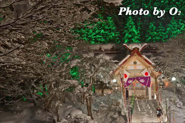 平成24年 木古内町 佐女川神社 寒中みそぎ祭 参籠報告祭 拝殿