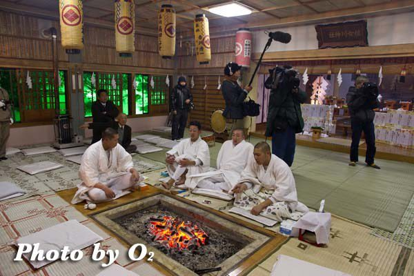 平成24年 木古内町 佐女川神社 寒中みそぎ祭 参籠報告祭前 様子