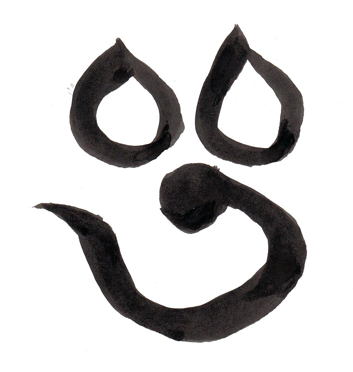 梵字にはパワーがあるってご存知でしたか?【葉書サイズ】鎌倉市長谷の書道教室