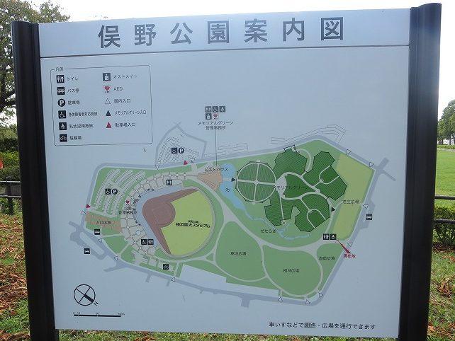 俣野公園案内図