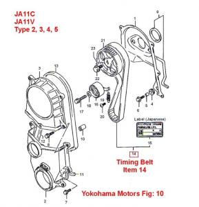 1996 Geo Tracker Engine Diagram Jimny Type 2 Timing Belt