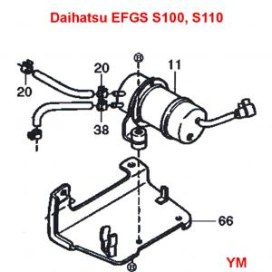 Daihatsu Hijet S110p Truck Efgs Engine Series Electrical