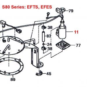 Daihatsu Hijet S80 Series EFTS, EFES 660cc Engine Series