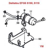 Daihatsu Hijet S110P Truck EFGS Engine Series Electrical