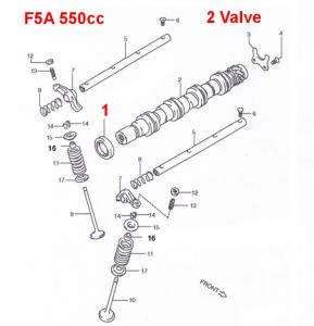 Suzuki Carry Camshaft Seal F5A Engines & F6A Turbo