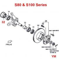 Daihatsu Hijet Front Wheel Bearings Inner Seal S80 & S100