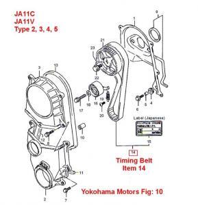 Jimny Type 2 Timing Belt