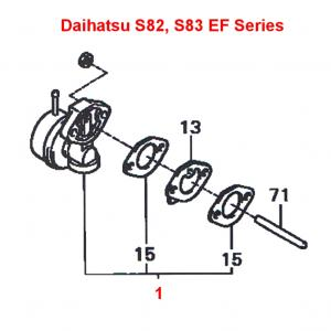 Daihatsu Hijet S80, S81, S82, S83 Mechanical Fuel Pump