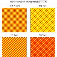 手織りの糸の色選びのコツ:縦糸と横糸の組み合わせで出来る色, 経糸と緯糸の交わった色, Weaving Colour Mixer, Colour mixing in weaving, Warp and weft
