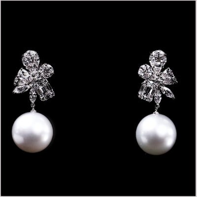 "<span id=""product-title"">STARLIGHT </span><br><span id=""product-description"">SOUTH SEA PEARL AND DIAMOND EARRINGS IN 18CT WHITE GOLD</span>"
