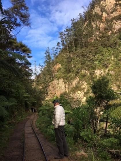カランガハケ峡谷 トロッコ