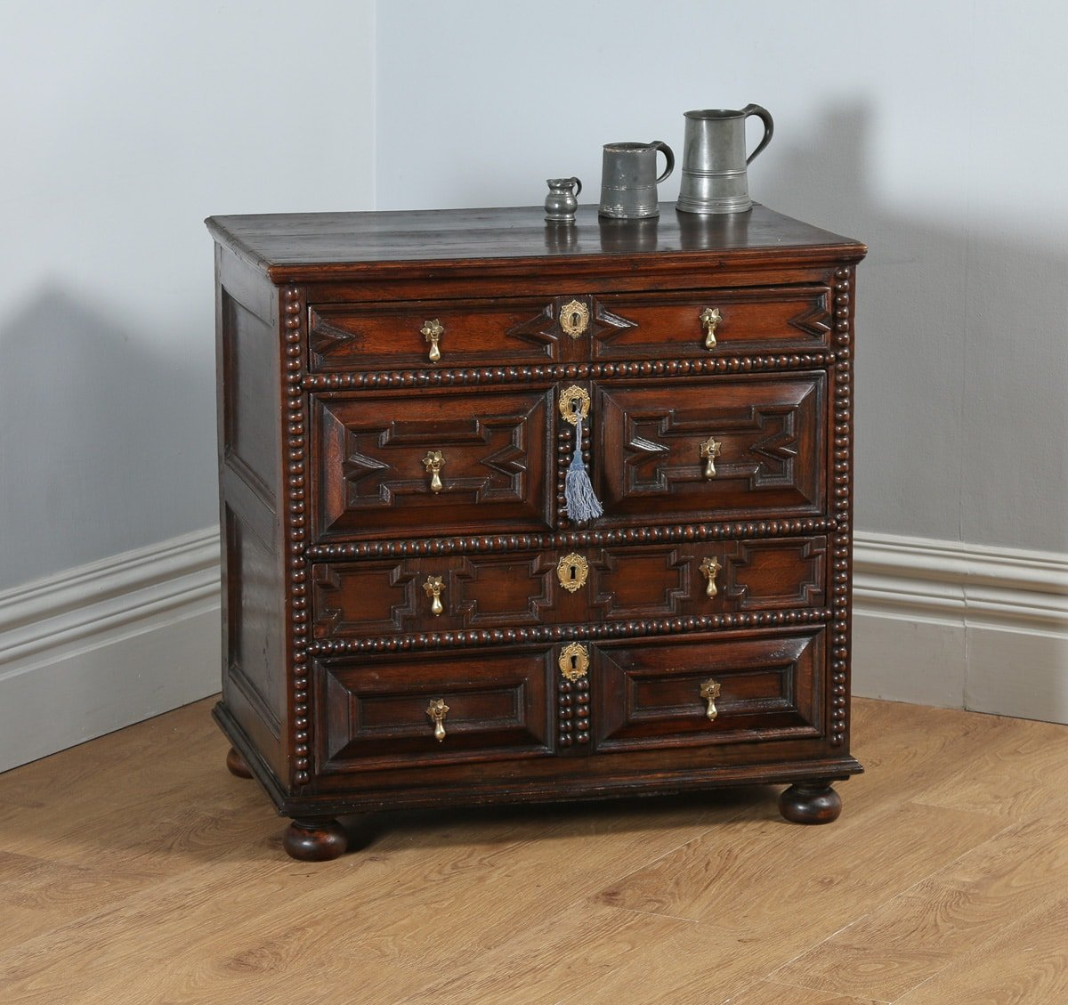 william and mary chair wheelchair seat belt antique english oak chest of drawers circa