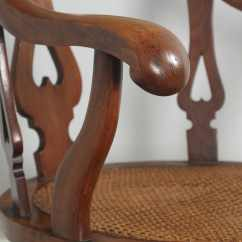 Cane Chairs For Sale Salon Hydraulic Chair Philippines Antique English Victorian Mahogany & Revolving Office Desk Arm (circa 1860) - Yola ...