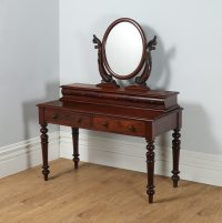 Antique Victorian Anglo Indian Colonial Teak Dressing ...