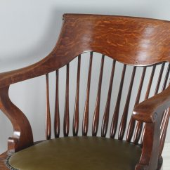Revolving Chair In English The Best Adirondack Company Antique Edwardian Oak Swivel Office Desk