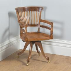 Revolving Chair For Kitchen 2 Chairs And Table Antique English Victorian Oak Burr Walnut