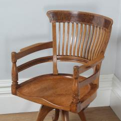 Revolving Chair For Kitchen Target Dish Antique English Victorian Oak And Burr Walnut