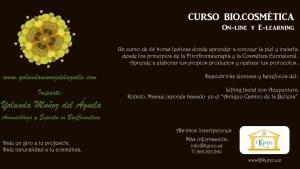 Curso On-line BioCosmética @ Kyreo