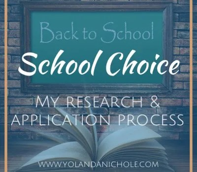 Back to School - School Choice