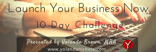 launch your business now 10 day challenge