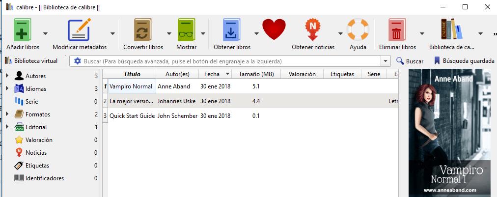 Cómo leer libros EPUB ( y otros) con Calibre (aplicación gratuita)