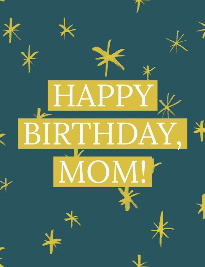 Happy Birthday, Mom! | My Mom's Beauty Tips, Thanks Mom!