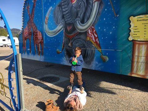 AcroYoga Family, Eltern-Kind Akrobatik, Partneryoga