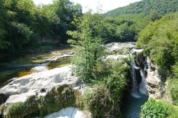 Martvili Kanyonu (Gürcistan)