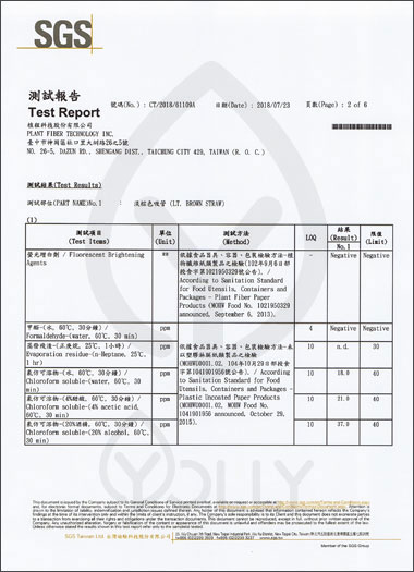YOLLY Certifications & Awards Plant Fiber International Inc.