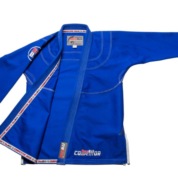 Comp450 BJJ gi Blue jacket