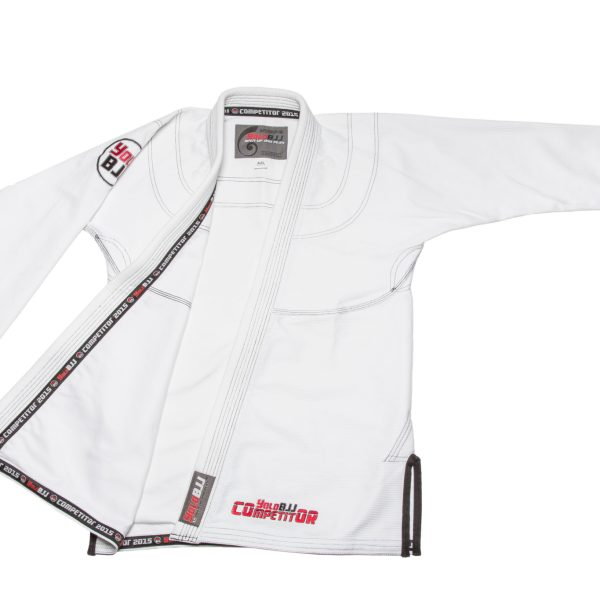 Comp450 BJJ gi white jacket