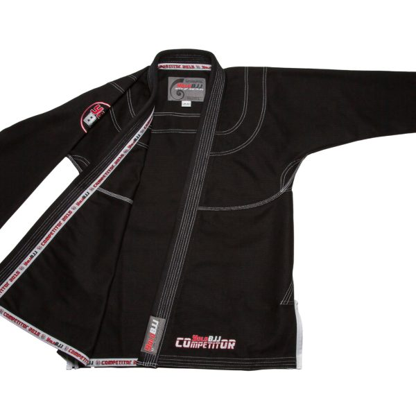 Comp450 BJJ gi Black jacket